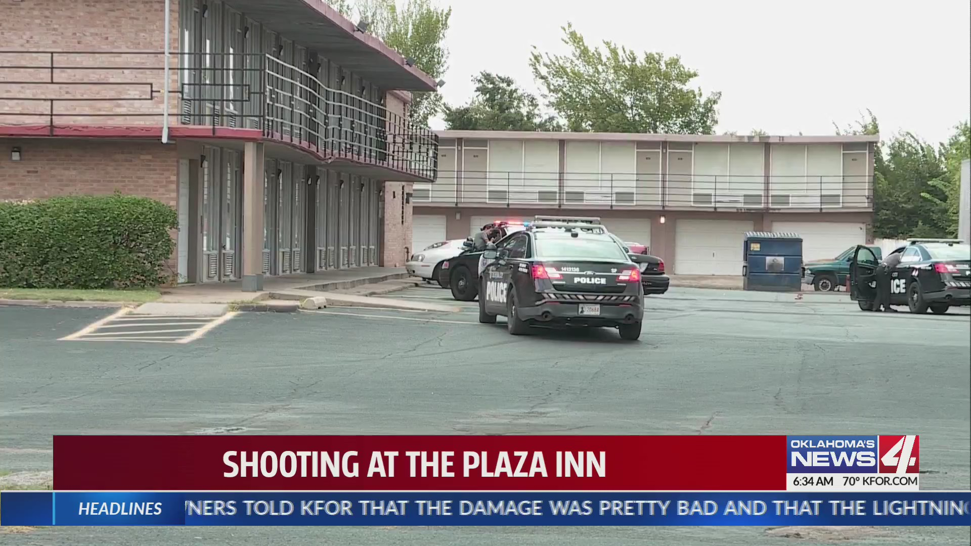 Shooting at Plaza Inn