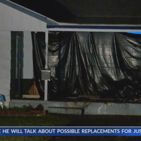 Truck slams into Oklahoma City home