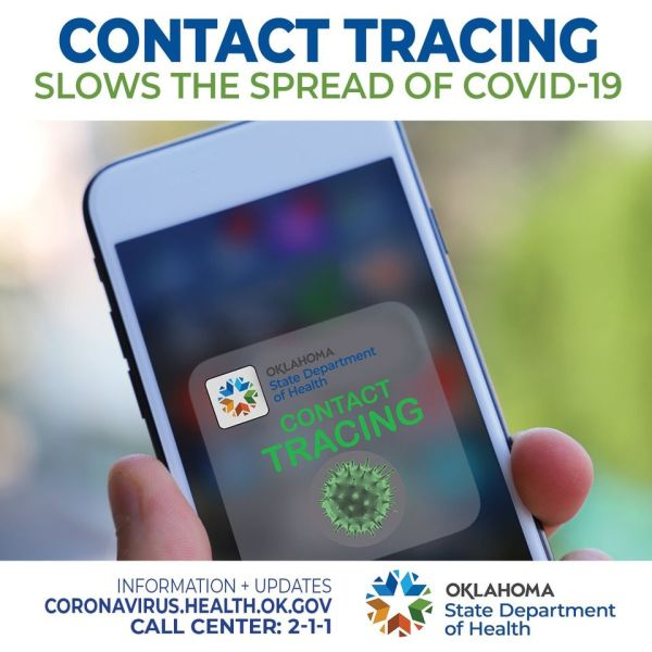 contact tracing information