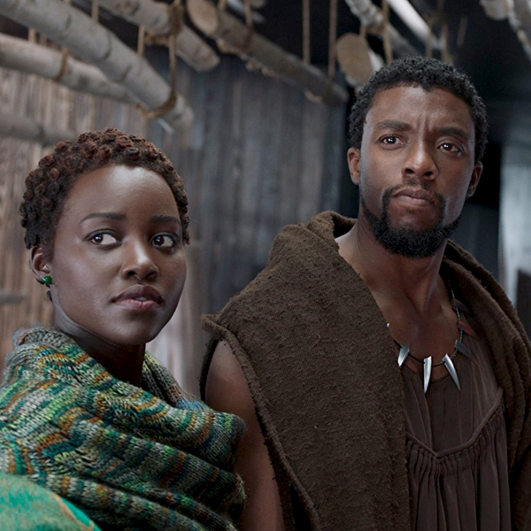 Chadwick Boseman and Lupita Nyong'o star in 'Black Panther.'