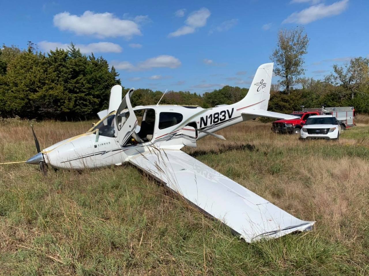 Single-engine airplane crashes in Johnston County