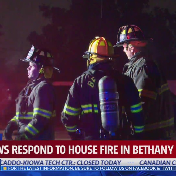 Bethany fire near NW 42nd and MacArthur