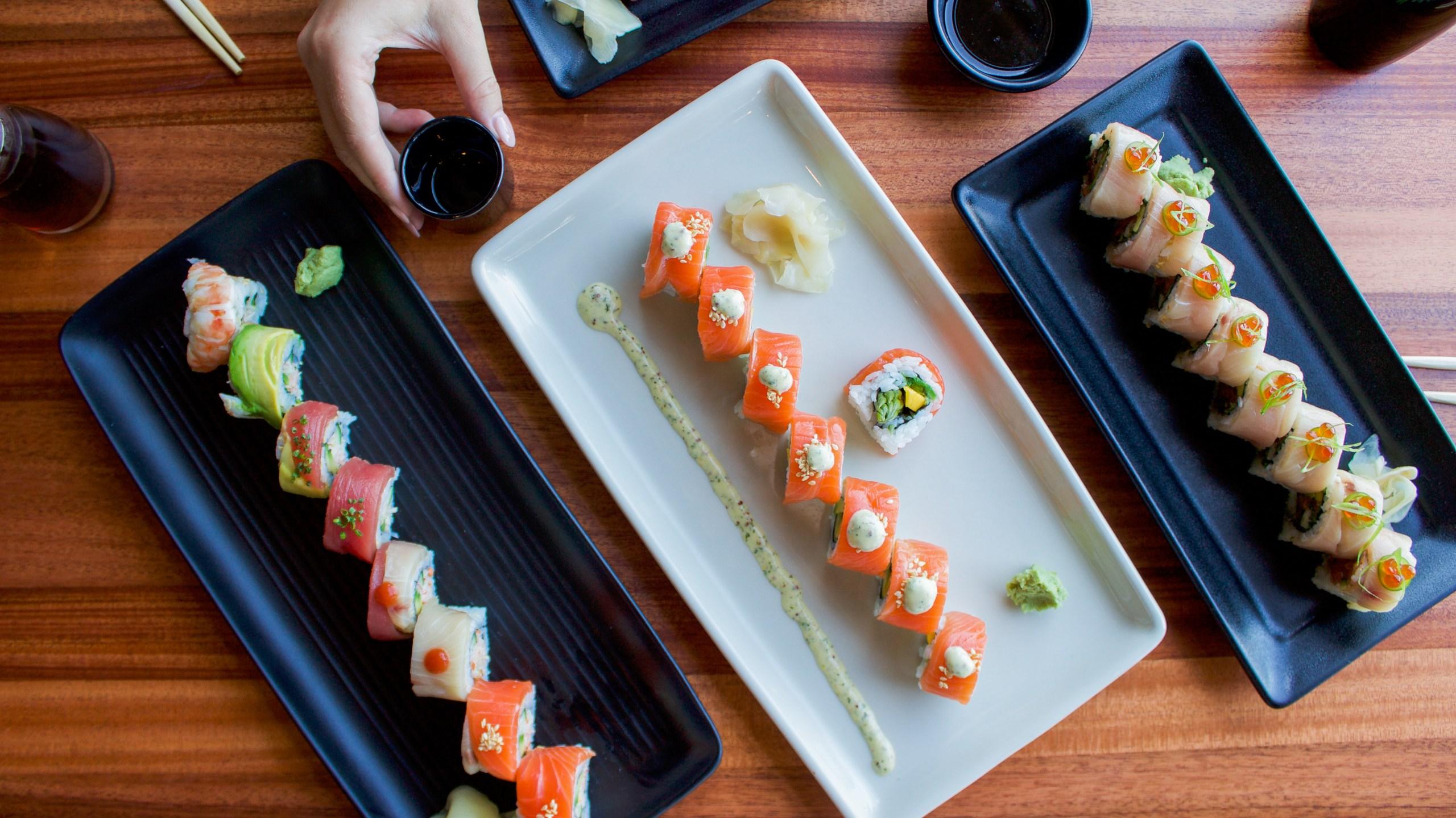 Jimmy B's sushi