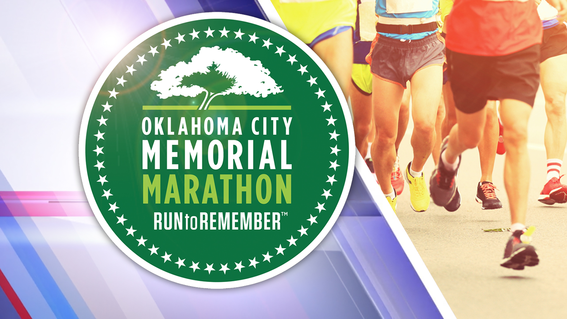Oklahoma City Memorial Marathon logo graphic