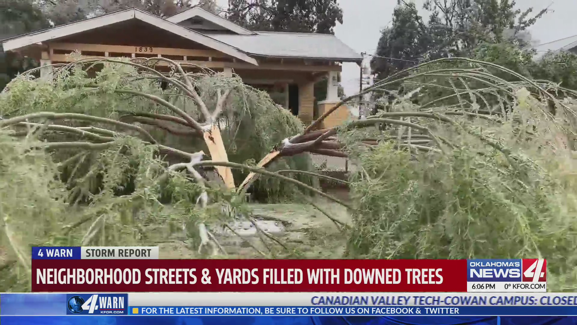 Trees, property continue to suffer through October ice storm