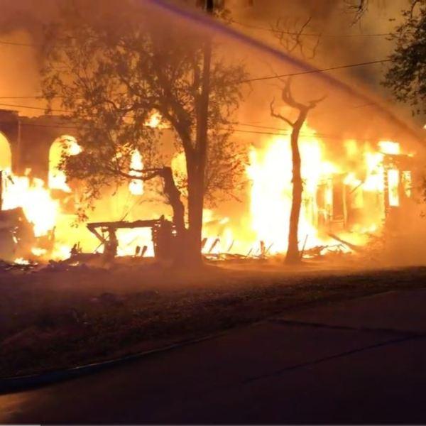 Vacant church fire near NE 23rd and MLK