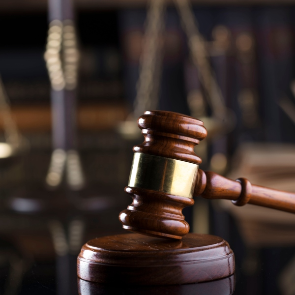 A judge's gavel is shown in a file photo. (Credit: iStock / Getty Images Plus)