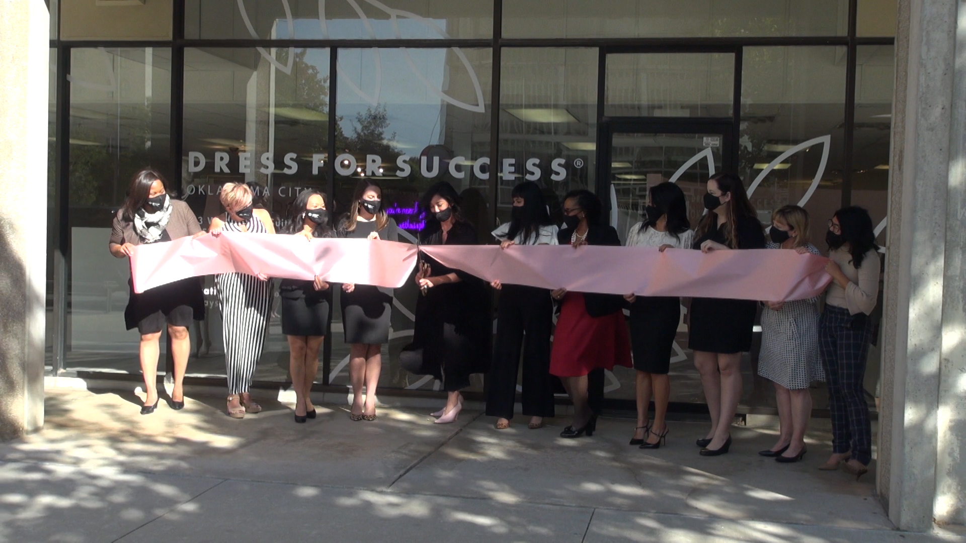 Dress for Success ribbon cutting