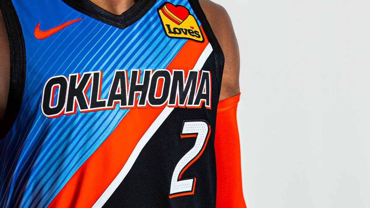 Oklahoma City Thunder new uniform