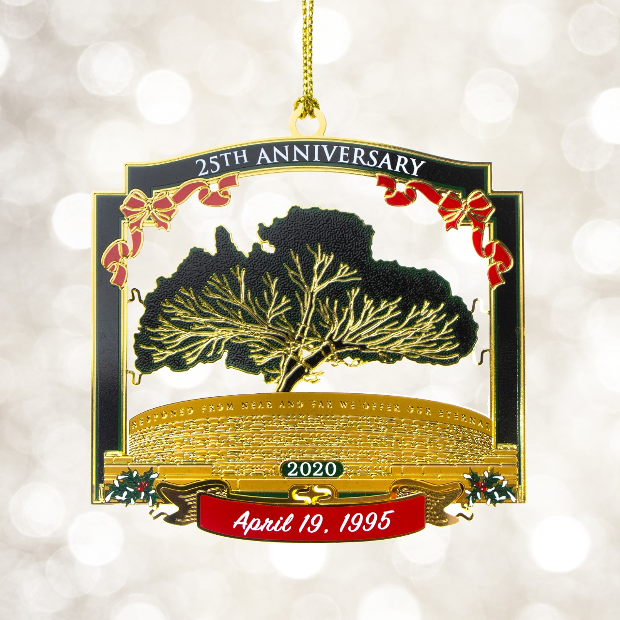 Friends Of The Governor S Mansion Release 2020 Ornament Kfor Com Oklahoma City