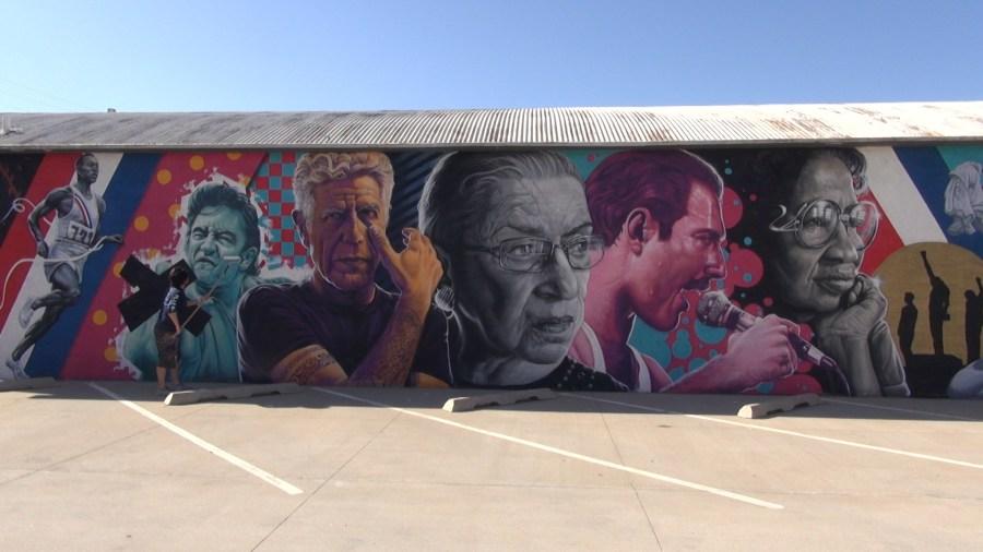 Carlos Barboza Oklahoma City mural