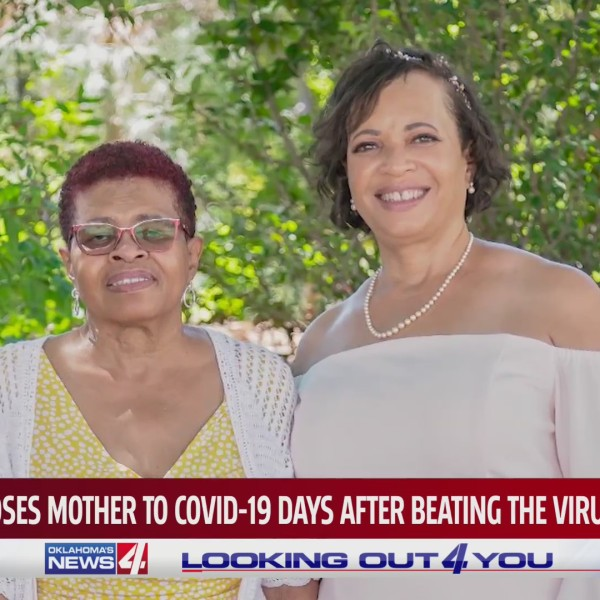 Oklahoma City woman loses mother to COVID-19