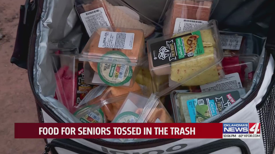 Home health worker at local independent living center upset after sandwiches she donated for residents that lost food were thrown away