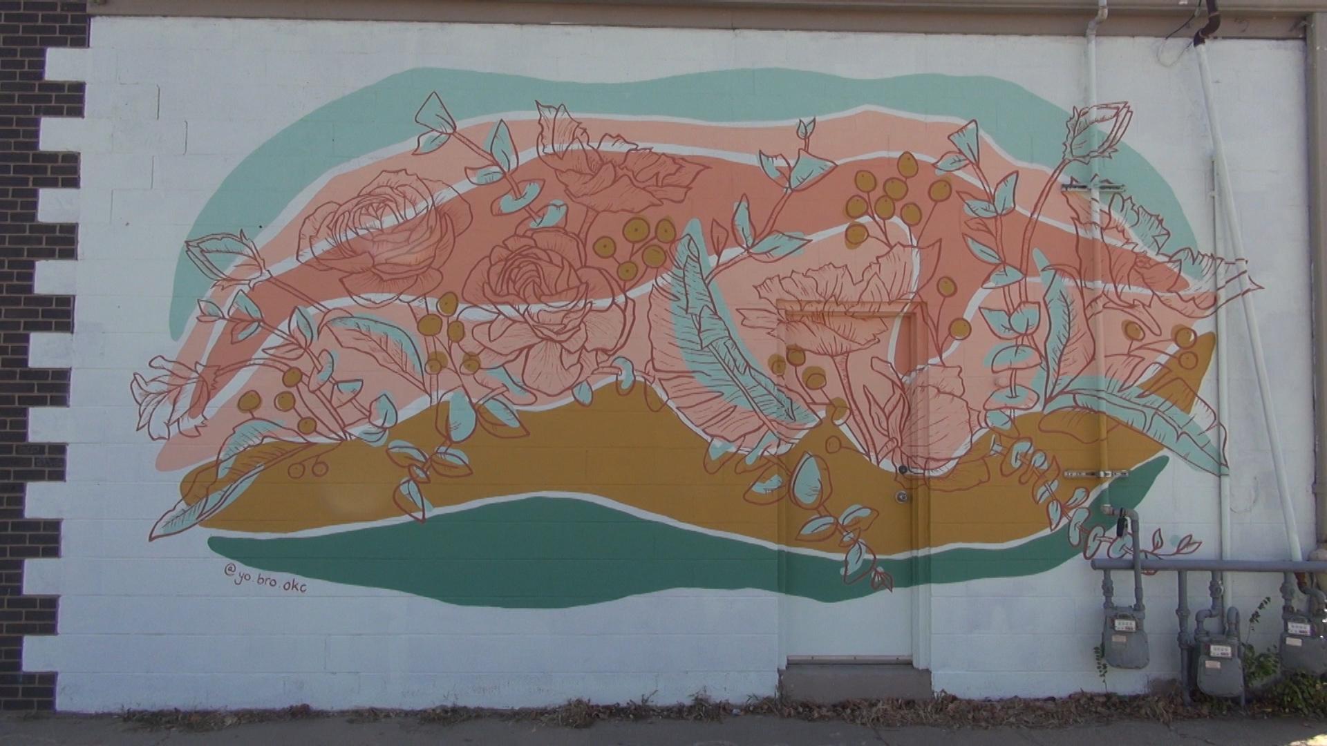 yo, bro mural in Edmond
