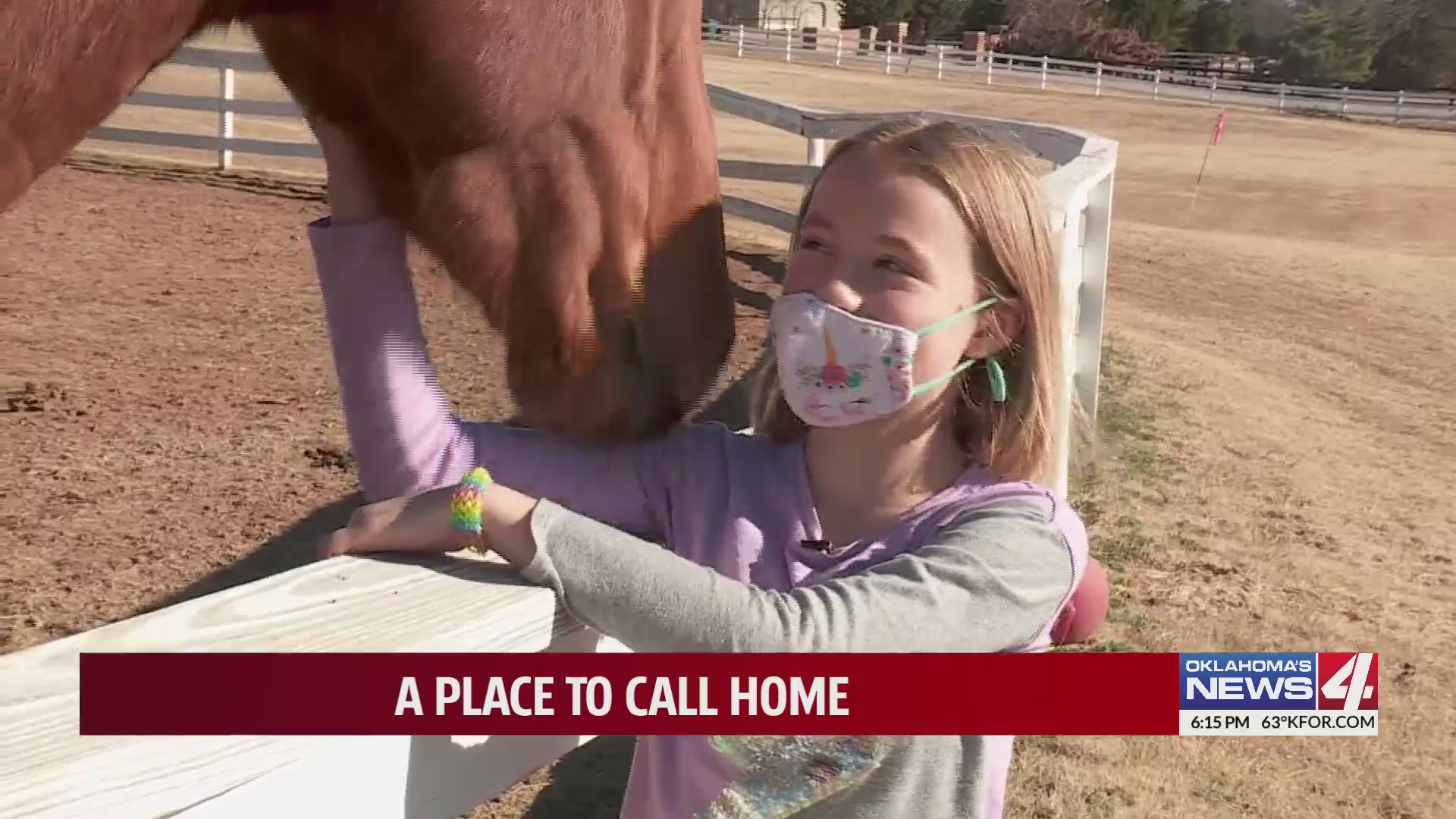 Countless Families Reach Out About Horse Loving 10 Year Old Seeking A Place To Call Home Kfor Com Oklahoma City