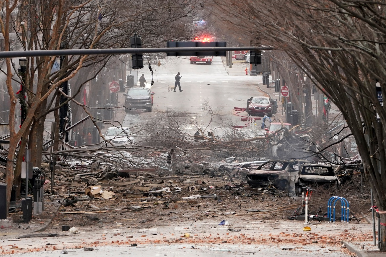 'Downtown' by Petula Clark played from RV prior to Nashville explosion