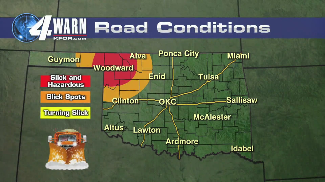 Road Conditions Texas Map Travel discouraged as slick, hazardous road conditions continue