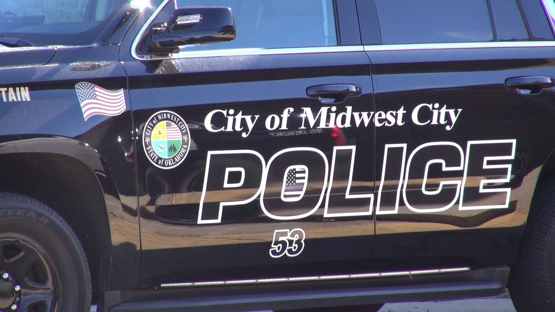 Midwest City police car