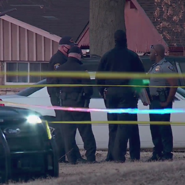 image of police officers at crime scene