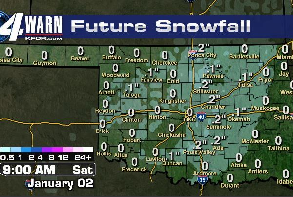Flurries Possible Early Saturday