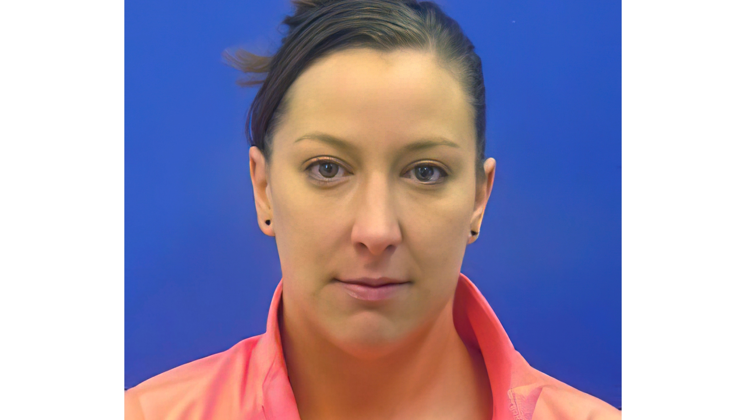 This driver's license photo from the Maryland Motor Vehicle Administration (MVA), provided to AP by the Calvert County Sheriff's Office, shows Ashli Babbitt. Babbitt was fatally shot by an employee of the Capitol Police inside the U.S. Capitol building in Washington