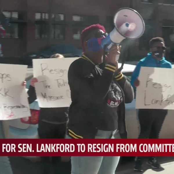 Group calling for Lankford's resignation