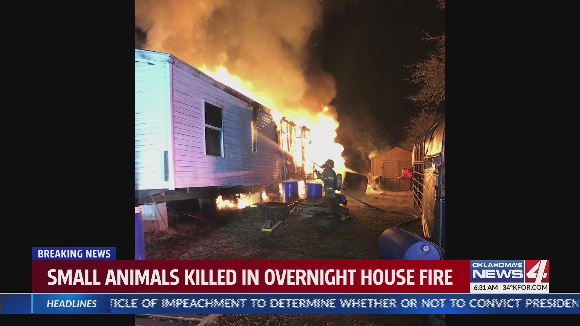 McLoud house fire