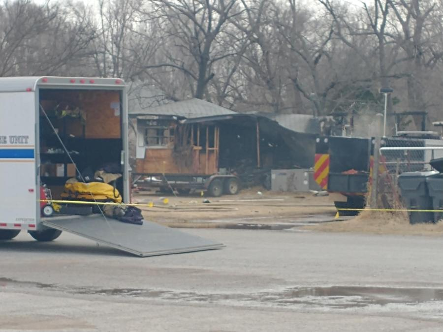 image of deadly fire in Waynoka