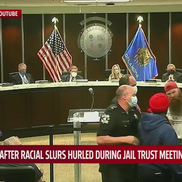 Racial slurs thrown during Jail Trust meeting