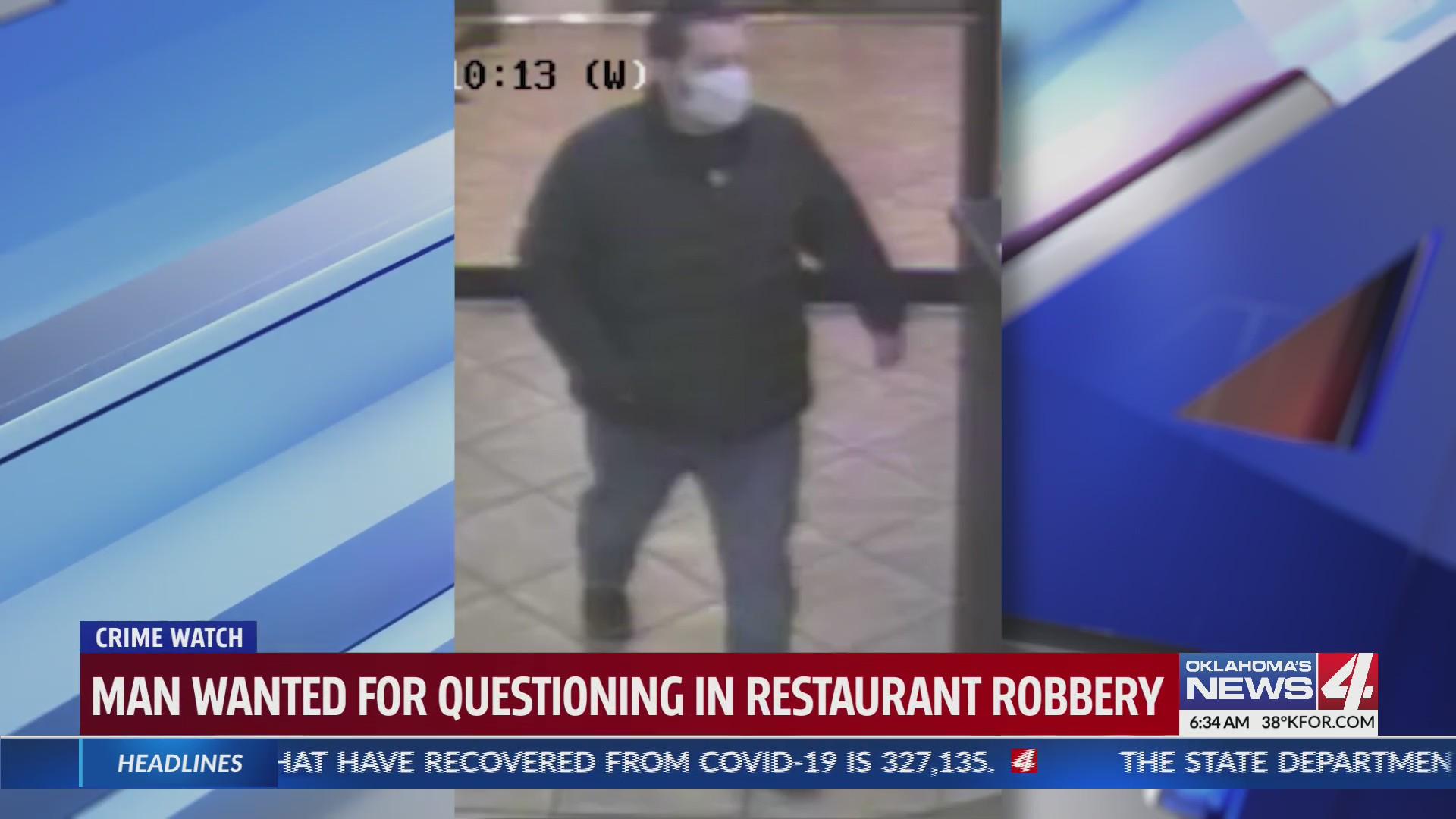Restaurant robbery