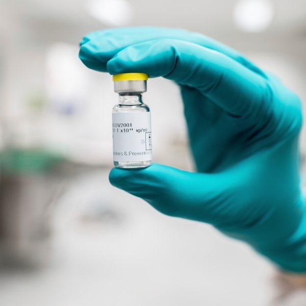 FILE - This July 2020 photo provided by Johnson & Johnson shows a vial of the COVID-19 vaccine in Belgium. The U.S. is getting a third vaccine to prevent COVID-19, as the Food and Drug Administration on Saturday, Feb. 27, 2021 cleared a Johnson & Johnson shot that works with just one dose instead of two.(Johnson & Johnson via AP, File)