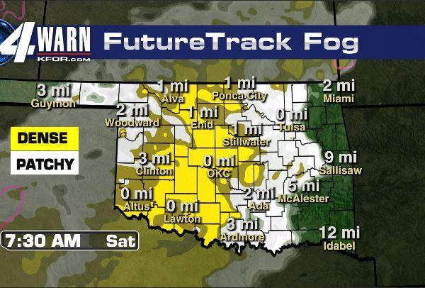 Fog Friday Night Through Saturday Morning