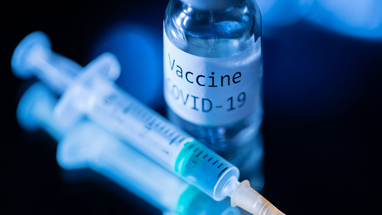 generic image of needle and vial of vaccine