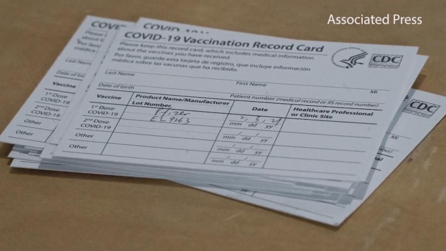 Vaccine cards