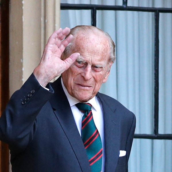 Prince Philip, Duke of Edinburgh, arrives for the transfer of the Colonel-in-Chief of The Rifles ceremony at Windsor castle on July 22, 2020 in Windsor, England. (Photo by Adrian Dennis - WPA Pool/Getty Images)