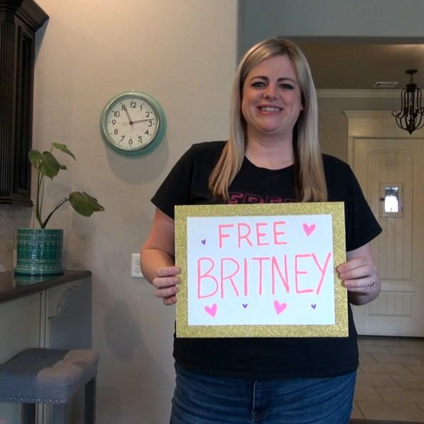 Oklahoma #FreeBritney activist Megan Radford