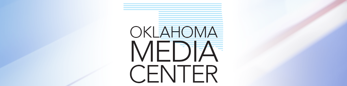 graphic that says Oklahoma Media Center