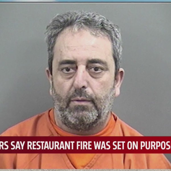 Mugshot of Nidal Al Ghazawneh, suspected of setting fire at Chickasha restaurant