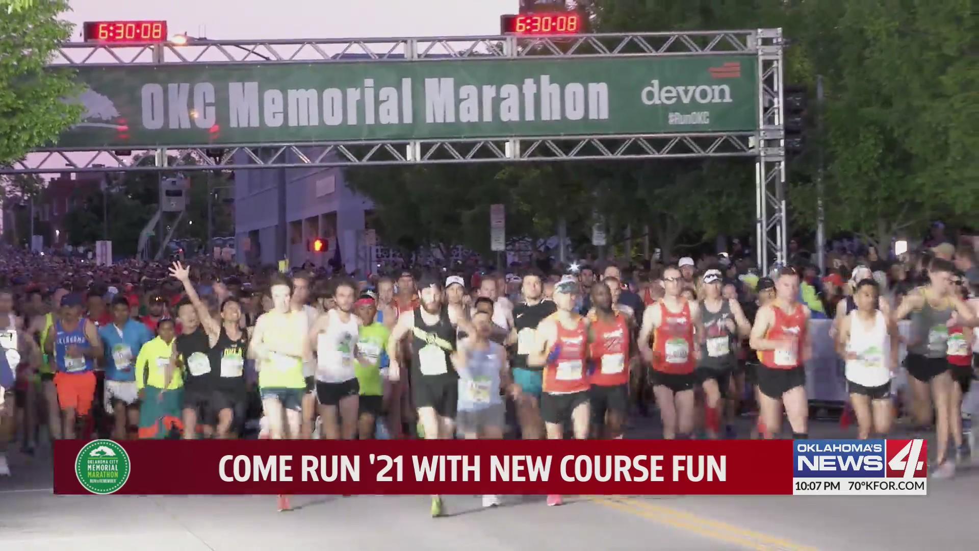 Run to Remember: Come run the Oklahoma City Memorial Marathon '21 with new course fun