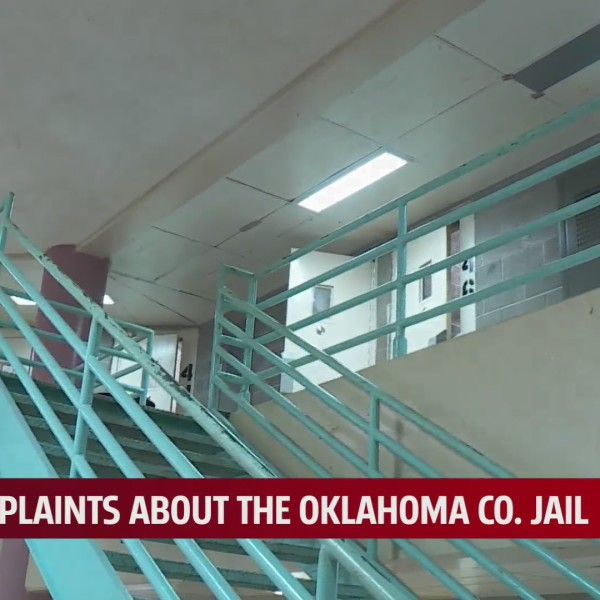 Inside Oklahoma County Jail