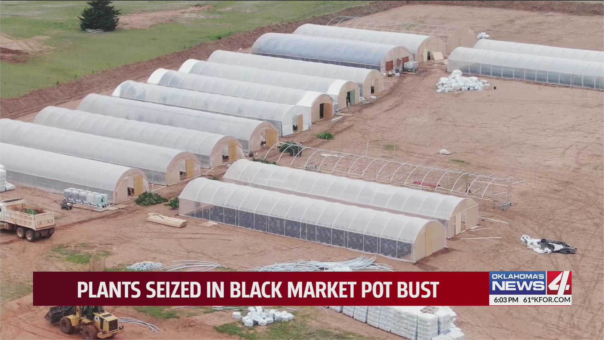 Oklahoma Bureau of Narcotics raids home, medical marijuana farm in Guthrie for selling product on black market