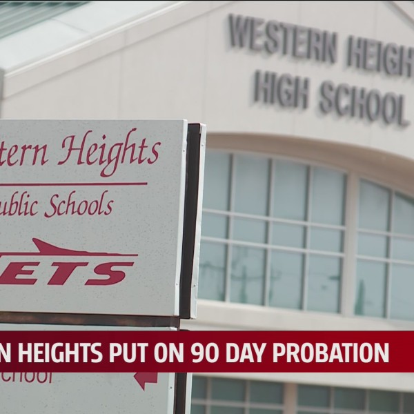 Western Heights Public Schools sign