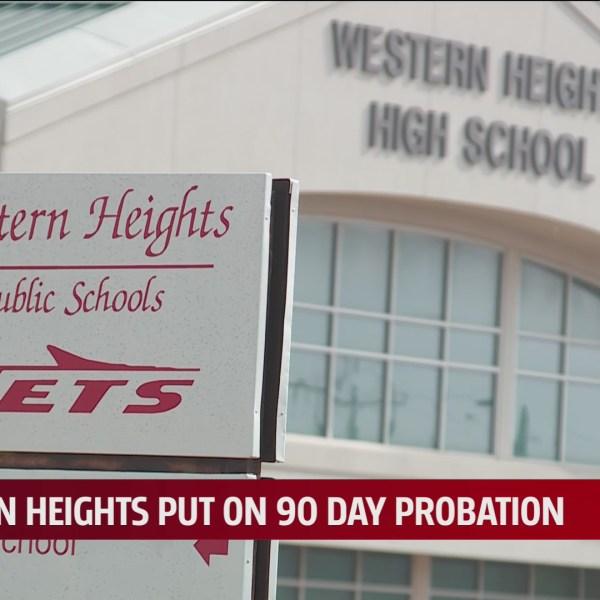 Western Heights Public Schools sign