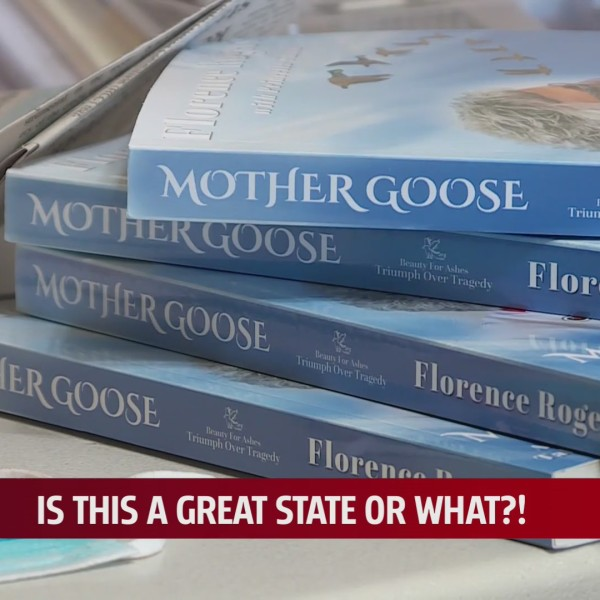 Mother Goose, a book written by an Oklahoma Survivor to remember 18 co-workers she lost on April 19,1995