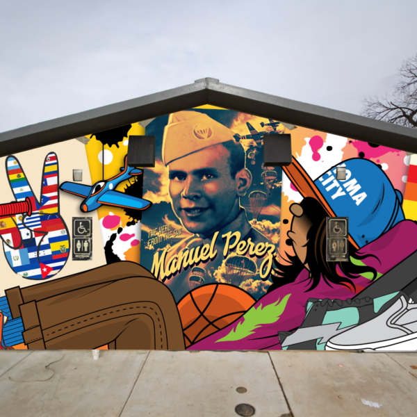 Mural to be installed at Manuel Perez Park