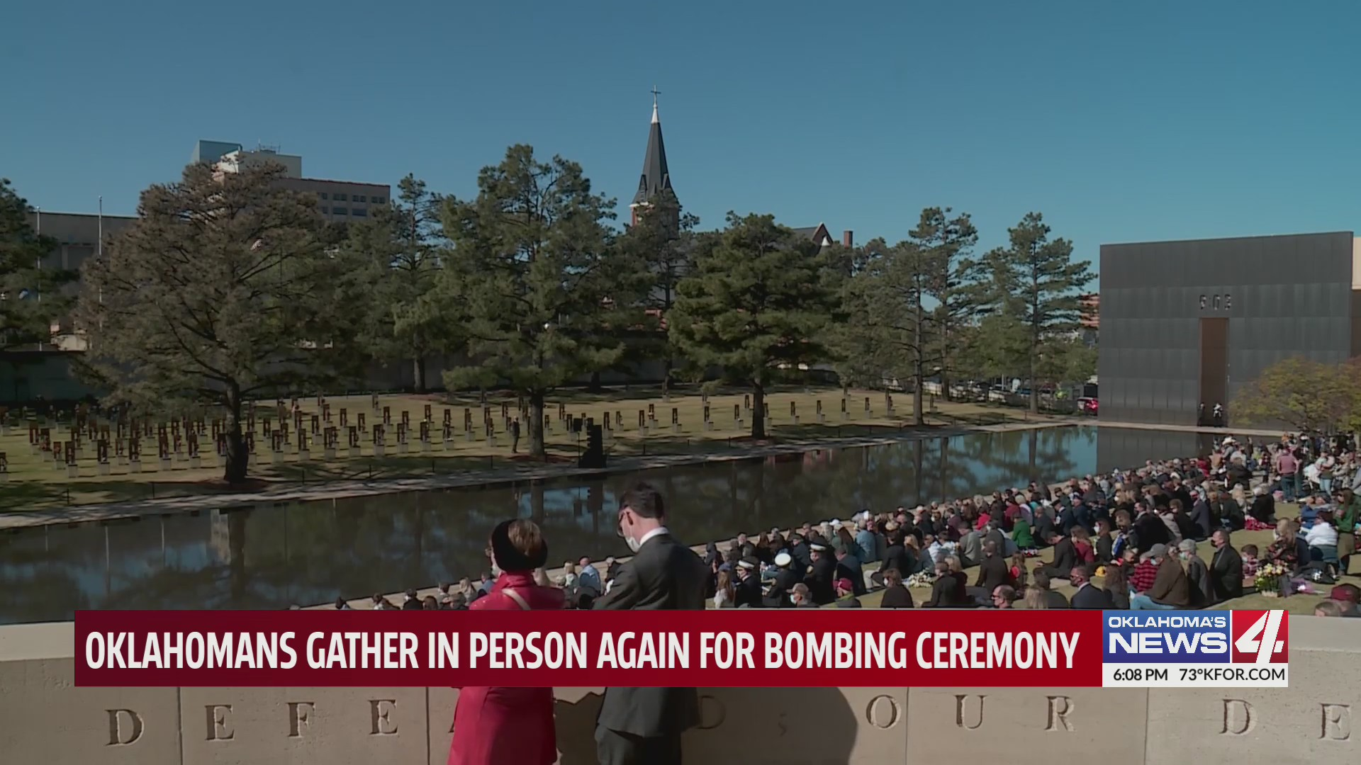 Survivors, family members gather together for remembrance ceremony after COVID-19