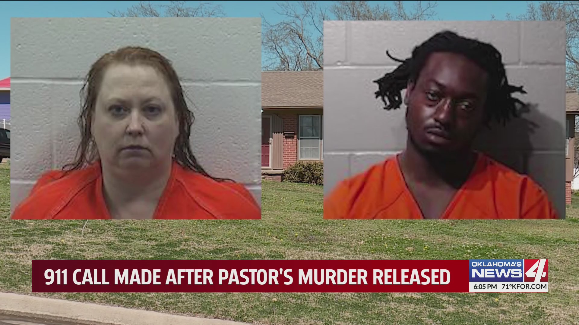 Mugshots of Ada pastor's wife and her boyfriend, both charged with his murder