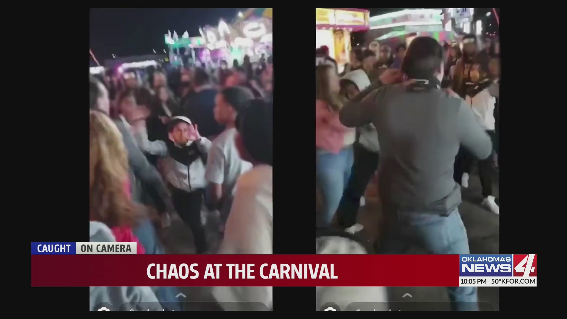 Oklahoma City police searching for carnival-goers involved in altercation in which pepper spray was used