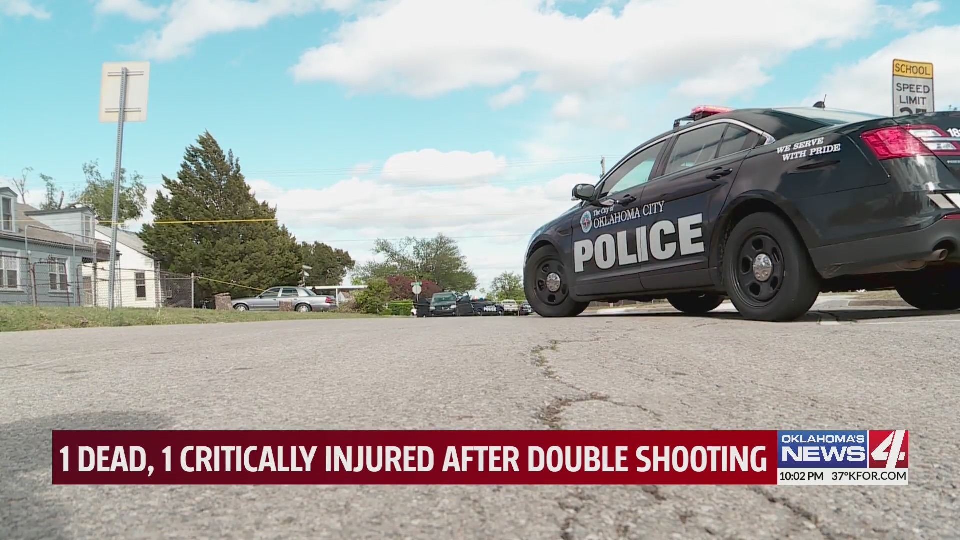 One person was killed and another critically injured in an Oklahoma City shooting.