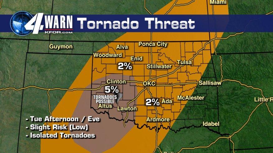 kfor forecast map
